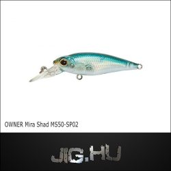 Wobbler Mira Shad MS50 -SP #02 (Black Pearl)
