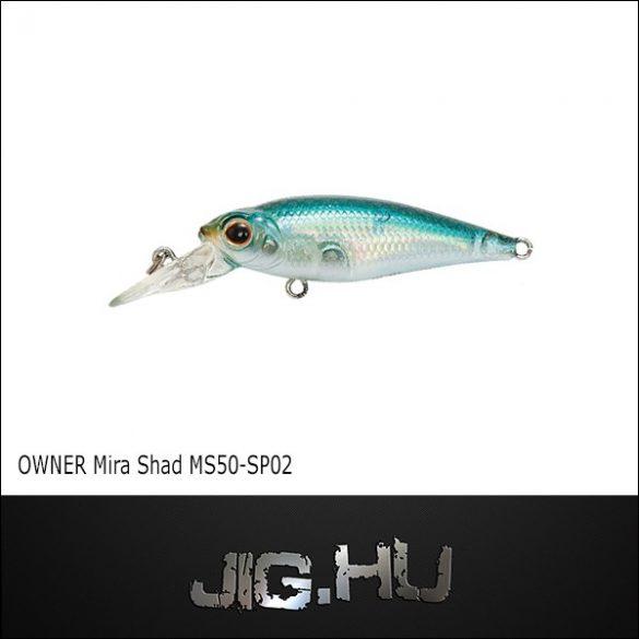 Wobbler Mira Shad MS50 -SP #02 (Black Pearl)